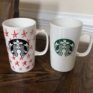 Bundle of 2 Starbucks mugs